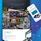 Multi-section single page website design